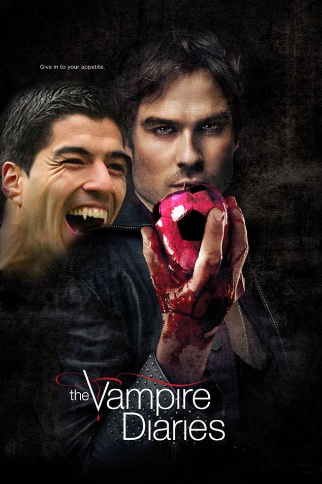 Ian Somerhalder, Vampire Diaries, Luis Suarez, Twitter