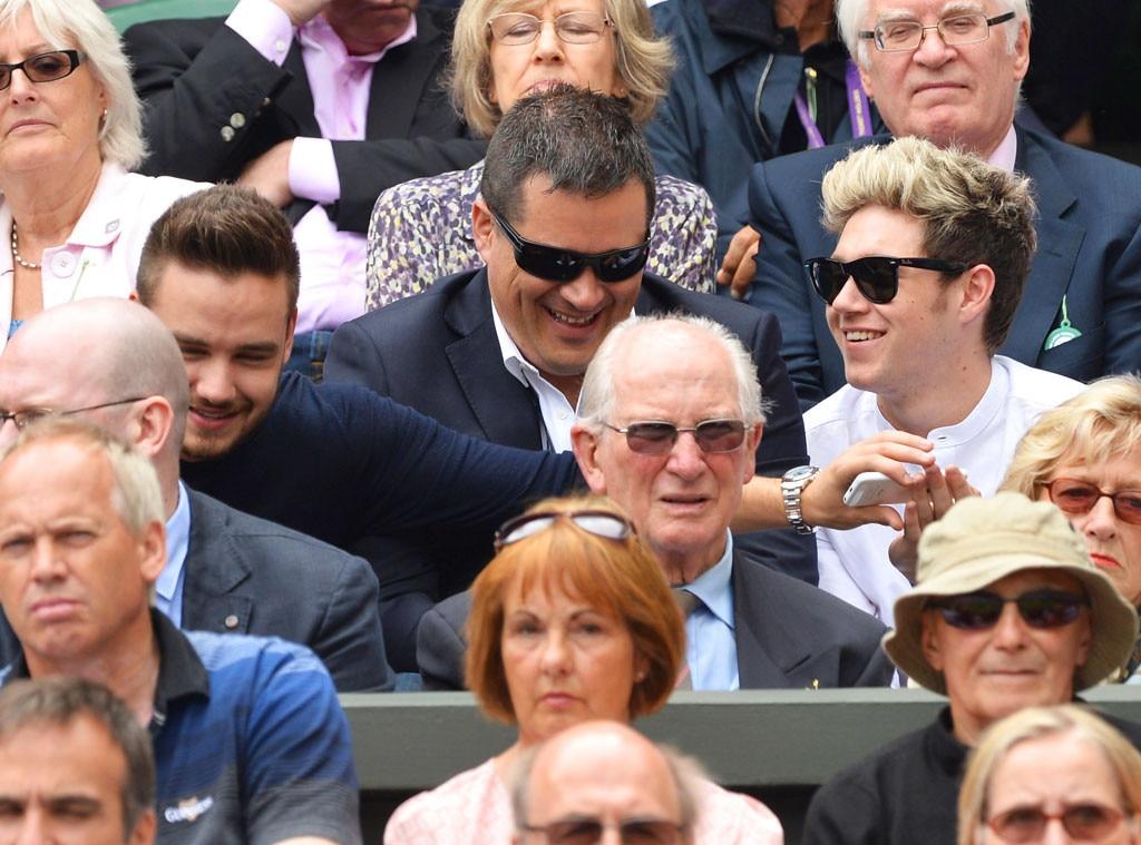 Liam Payne, Niall Horan, Wimbledon