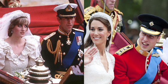 Prince William, Kate Middleton, Prince Charles, Princess Dianna, Best Wedding Ever