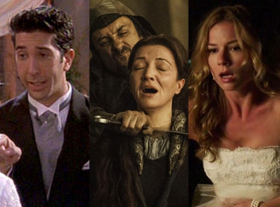 Tragic TV Weddings