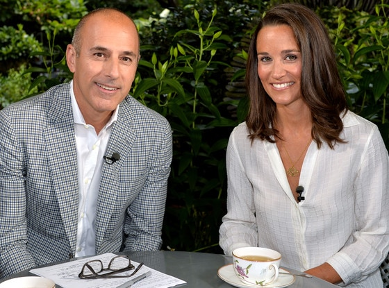 Matt Lauer, Pippa Middleton