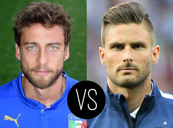 World Cup Hotties, Claudio Marchisio, Olivier Giroud