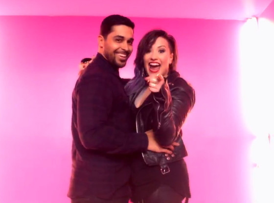 Demi Lovato, Wilmer Valderrama, Really Don't Care Video