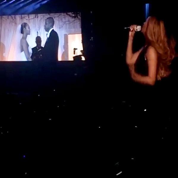 Beyonce, Jay Z, Wedding Footage, Instagram