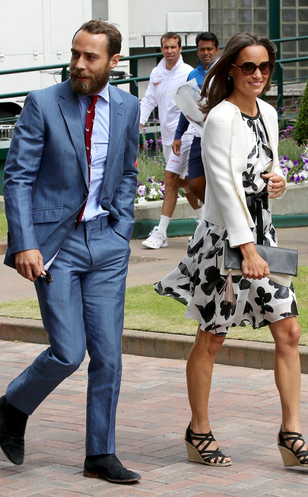 James Middleton, Pippa Middleton, Wimbledon