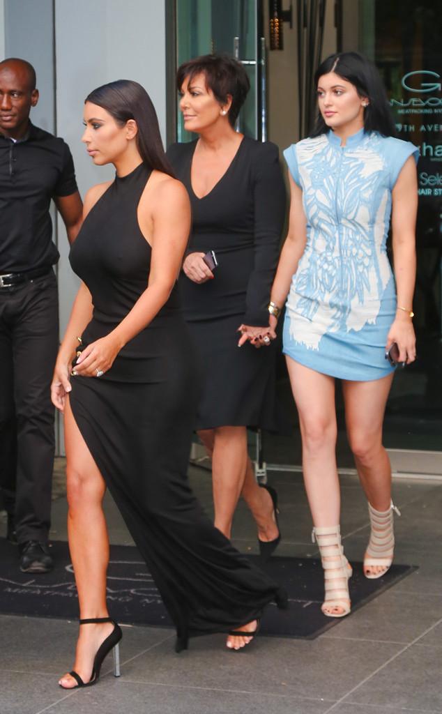 Kim Kardashian, Kris Jenner, Kylie Jenner