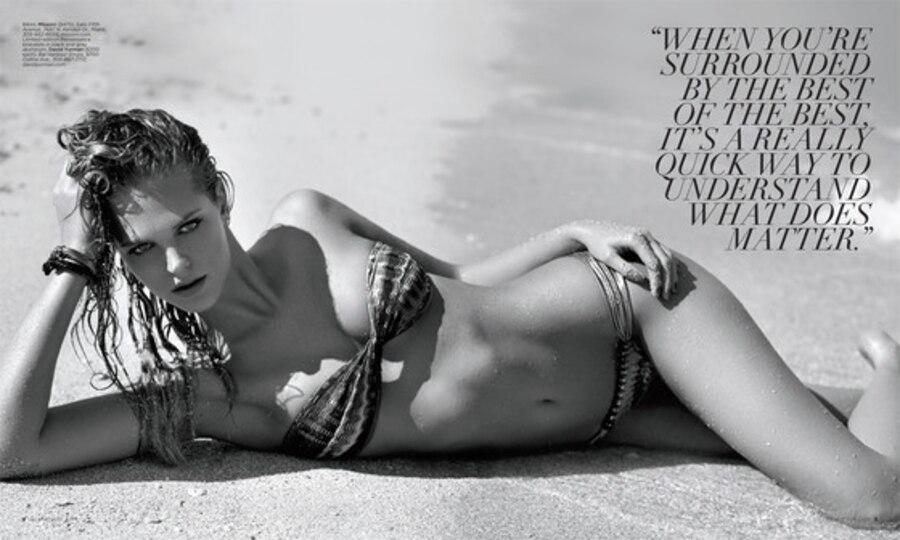 Erin Heatherton, Ocean Drive Magazine