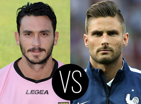 World Cup Hotties, Mauricio Pinilla, Olivier Giroud