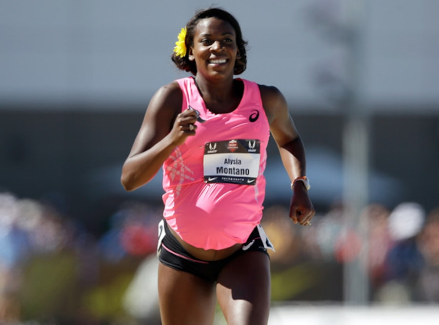 Alysia Montano, Pregnant Runner