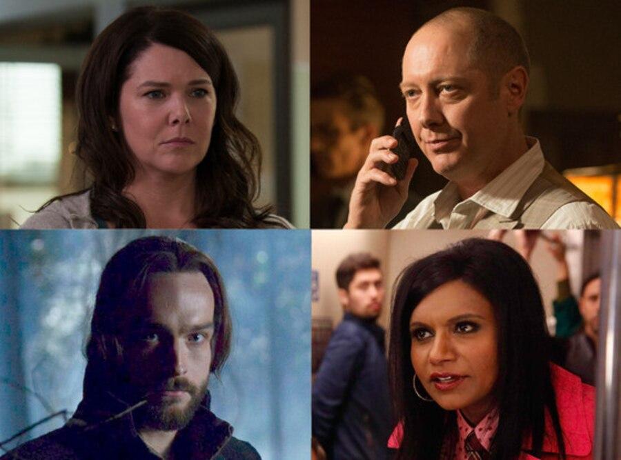 Tom Mison, Sleepy Hollow, Mindy Kaling, Mindy Project, James Spader, The Blacklist, Lauren Graham, Parenthood