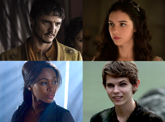 Nicole Beharie, Sleepy Hollow, Pedro Pascal, Game of Thrones, Adelaide Kane, Reign, Robbie Kay, Once Upon a Time