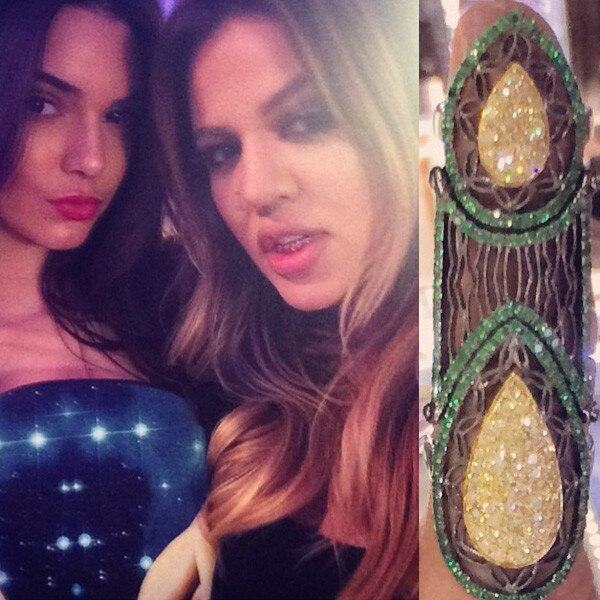 Khloe Kardashian, Birthday Ring, Grill