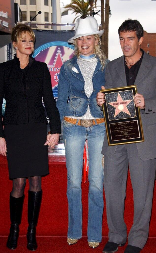 Melanie Griffith, Sharon Stone, Antonio Banderas