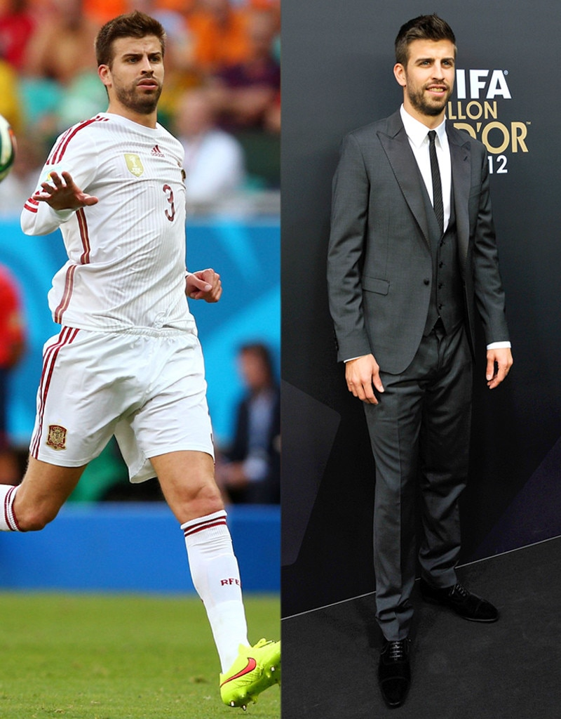 Gerard Pique, On and Off the Field