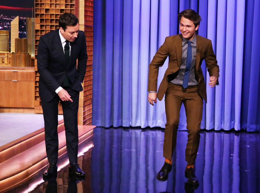 Jimmy Fallon, Ansel Elgort