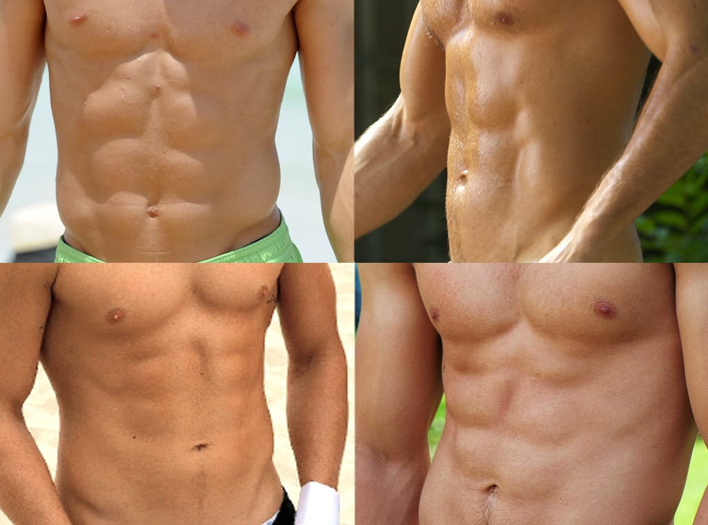 Best Abs, Blake Griffin, Ryan Reynolds, Channing Tatum, Taylor Lautner