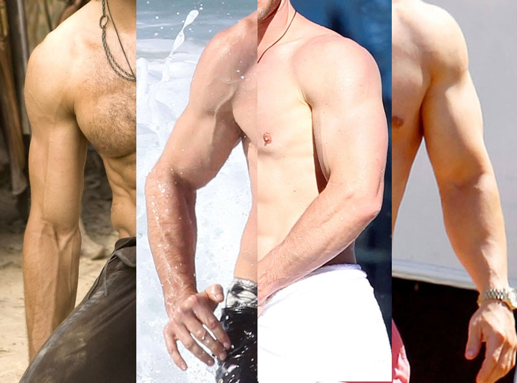 Best Arms, Mark Wahlberg, Hugh Jackman, Chris Hemsworth, Jake Gyllenhaal