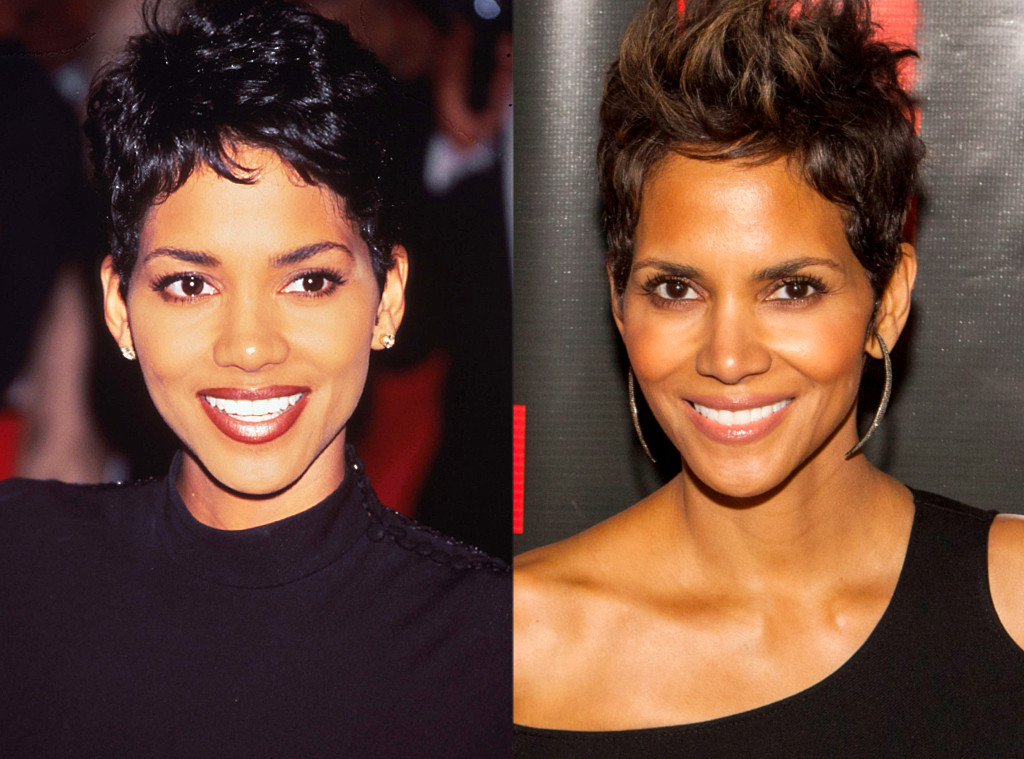 Halle Berry From Celebs Who Deny Getting Plastic Surgery