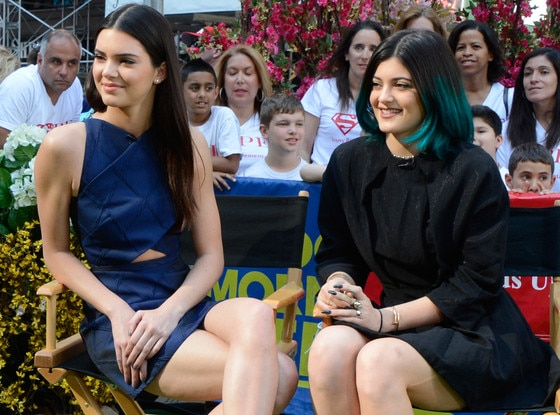 Kendall Jenner, Kylie Jenner, Good Morning America
