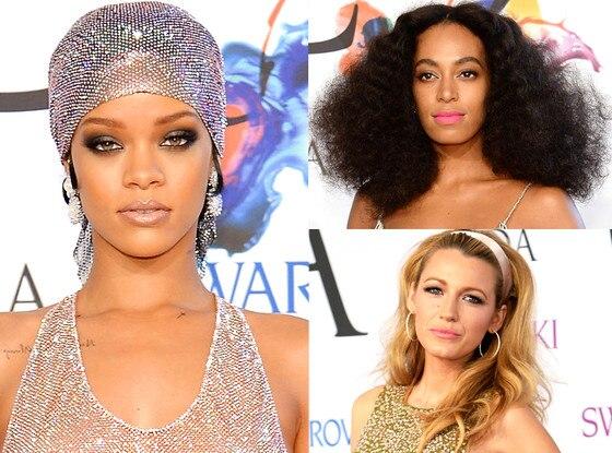 Rihanna, Solange, Blake Lively, CFDA