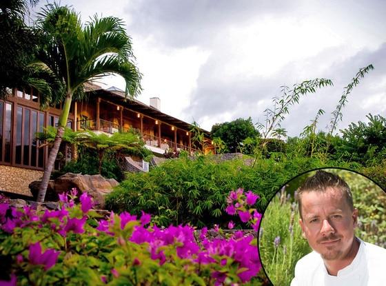 Maui Film Festival Food, Capische Day, Chef Brian