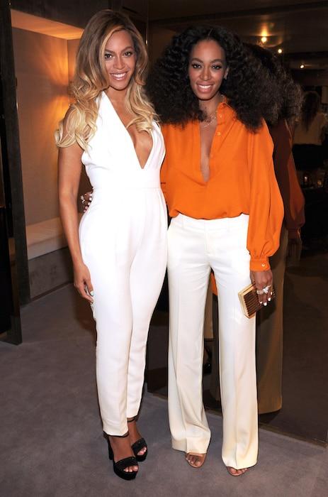 Beyonce, Solange Knowles, Celeb Sisters