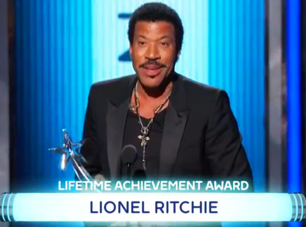 Lionel Richie, BET Awards, Misspelling