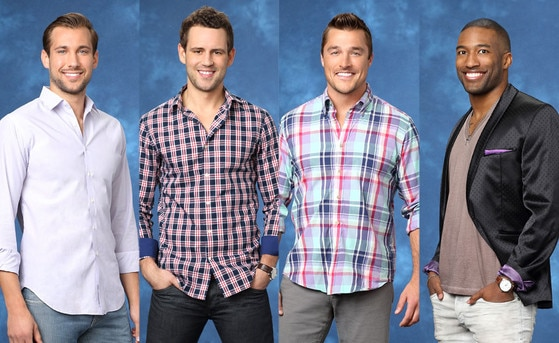 Bachelorette, Marcus, Nick V., Chris, Marquel