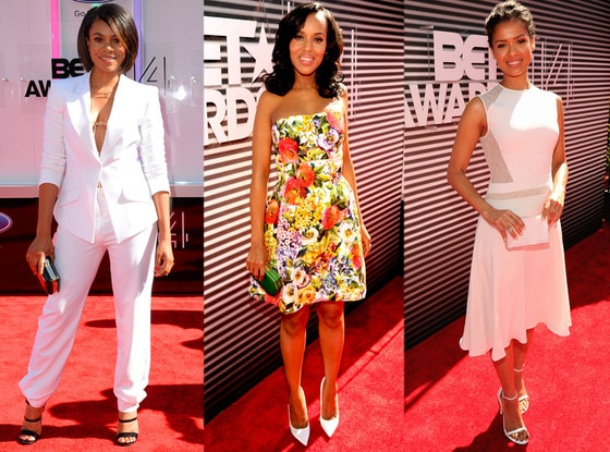 Regina Hall, Kerry Washington, Gugu Mbatha-Raw, BET AWARDS