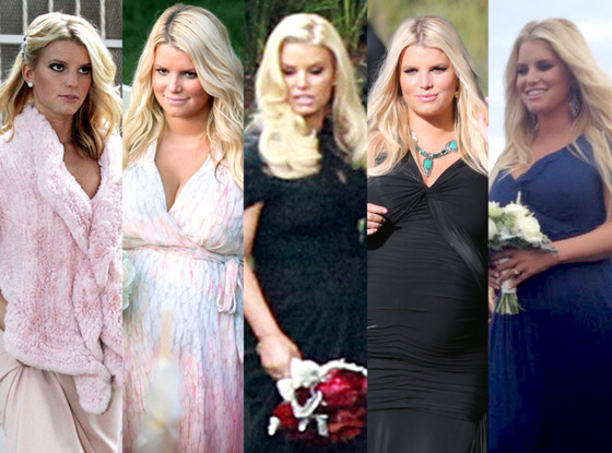 Jessica Simpson\'s Wedding Dress Flashback—Plus, All the Times She ...