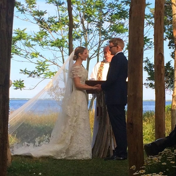 Charlie Shaffer, Elizabeth Cordry, Wedding, Instagram