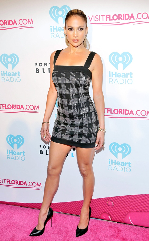 Miami Heat from Jennifer Lopez's Shortest Dresses