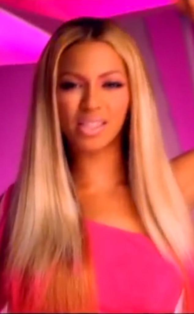 Beyonce, Hair, Bootylicious, 2001