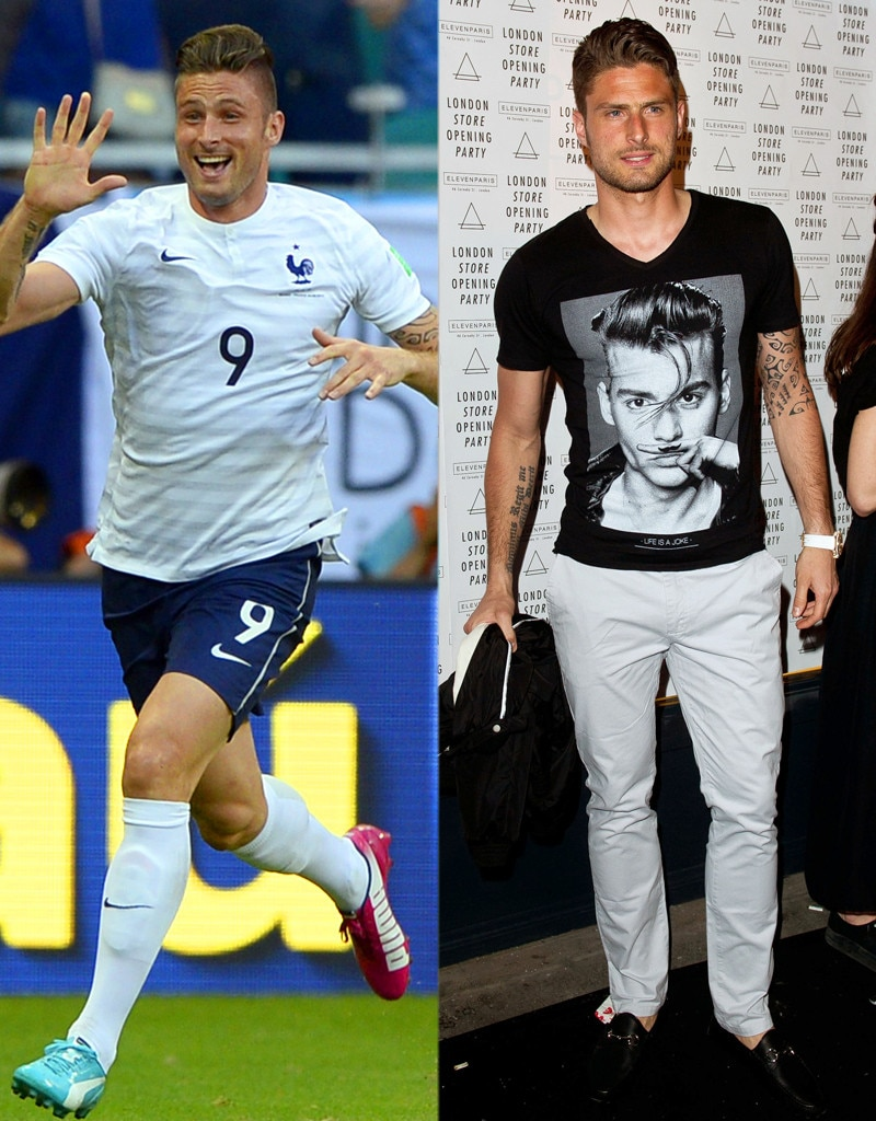 Olivier Giroud, On and Off the Field