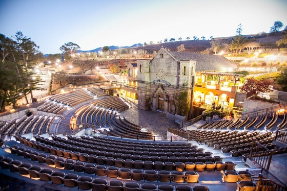Best Music Venues, Mountain Winery, Saratoga
