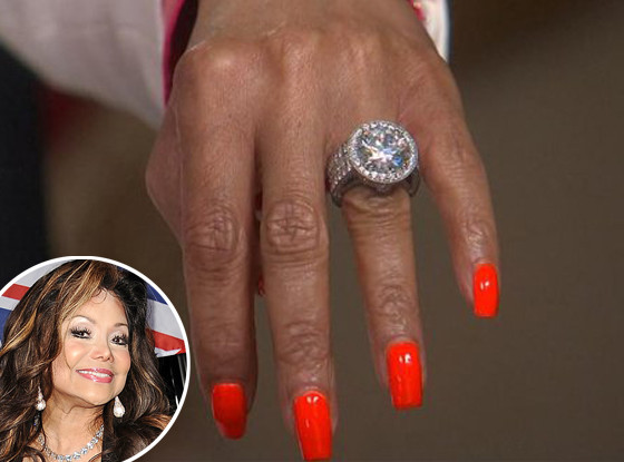 Latoya Jackson, Engagement Ring