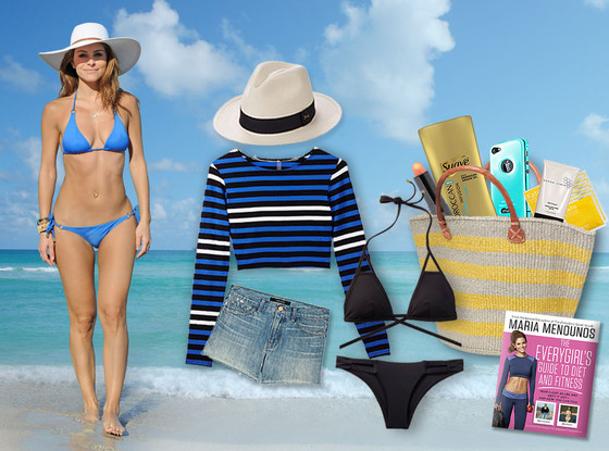 Maria Menounos, What's In My Beach Bag?