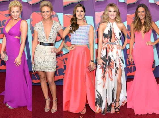 Miranda Lambert, Carrie Underwood, Kellie Pickler, Cassadee Pope, Jana Kramer, Best Dressed, CMT Awards