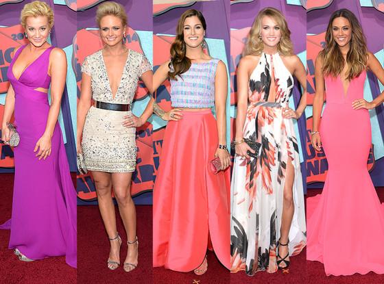 Miranda Lambert, Carrie Underwood, Kellie Pickler, Cassadee Pope, Jana Kramer, Best Dressed, CMT Awards