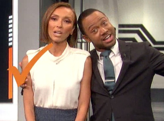 Terrence Jenkins, Giuliana Rancic