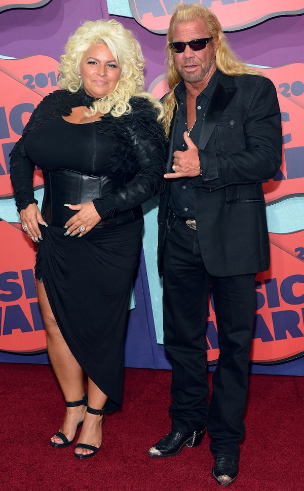 dog the bounty hunter beth chapman from cmt music awards