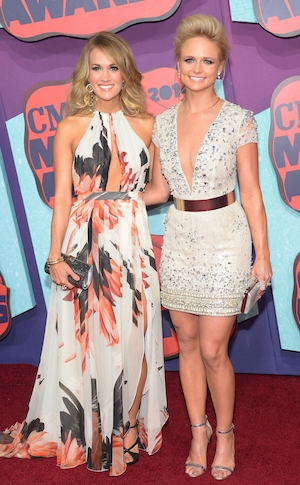 Carrie Underwood, Miranda Lambert, CMT Awards