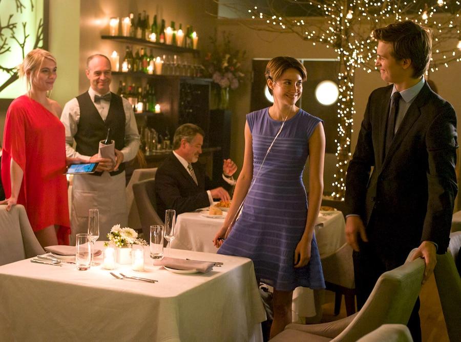 The Fault In Our Stars, Shailene Woodley, Ansel Elgort