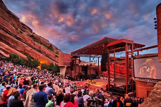 Best Music Venues, Red Rocks, Colorado