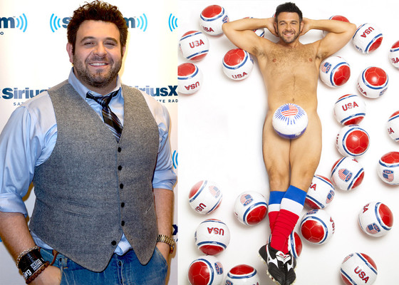 Adam Richman, British Cosmopolitan