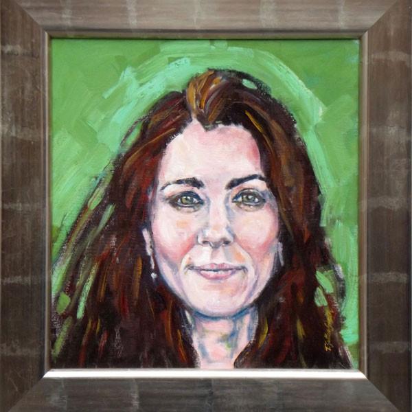 Duchess of Cambridge, Kate Middleton, Painting