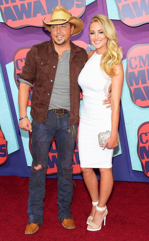 Jason Aldean, Brittany Kerr, CMT Music Awards
