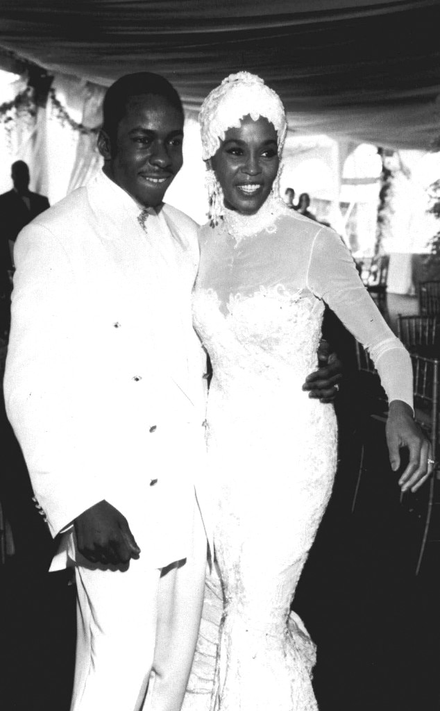 Whitney Houston, Bobby Brown, Wedding