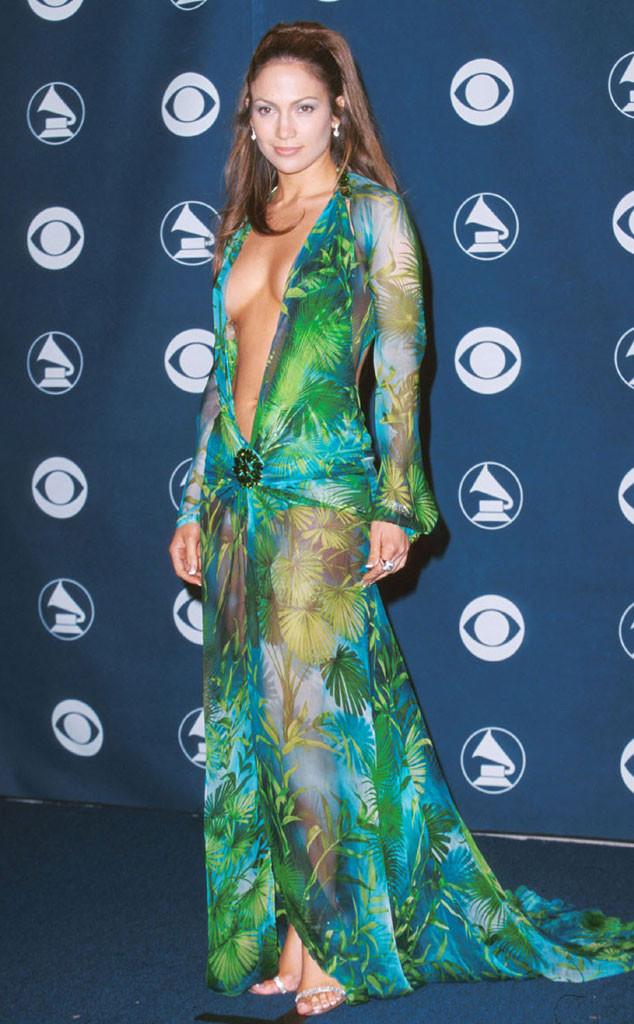 Jennifer Lopez, Versace, Grammy's