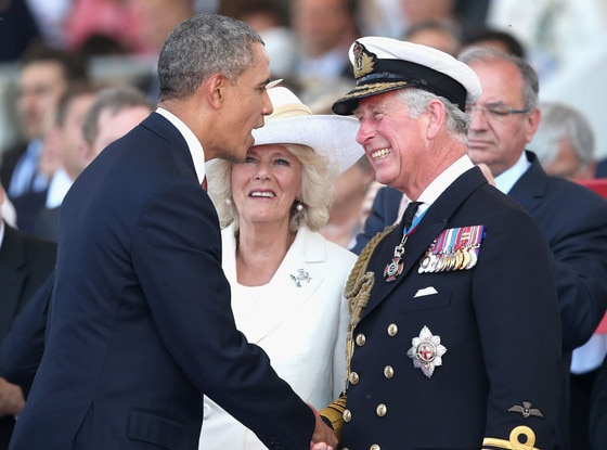 President Barack Obama, Prince Charles